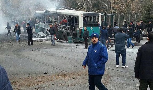 48 wounded, 13 killed in Turkey suicide attack-UPDATE