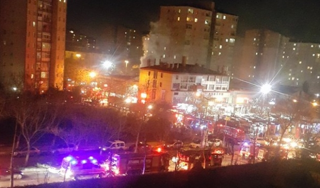 Separate blasts at three HDP buildings in Istanbul