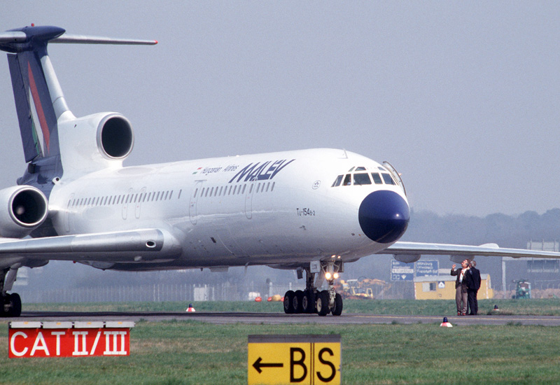 Russia's Tu-154 plane: a history of accidents