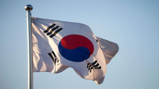 S.Korean election polls point to liberal candidate