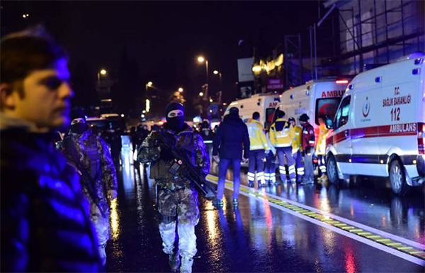 Istanbul nightclub massacre suspect arrested in Denmark