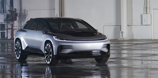 Electric car startup unveils 'new species' of vehicle