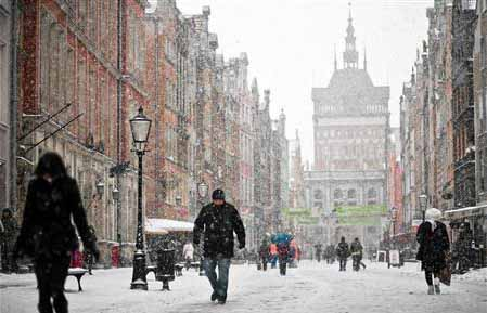 Cold snap kills 10 in Poland in two days