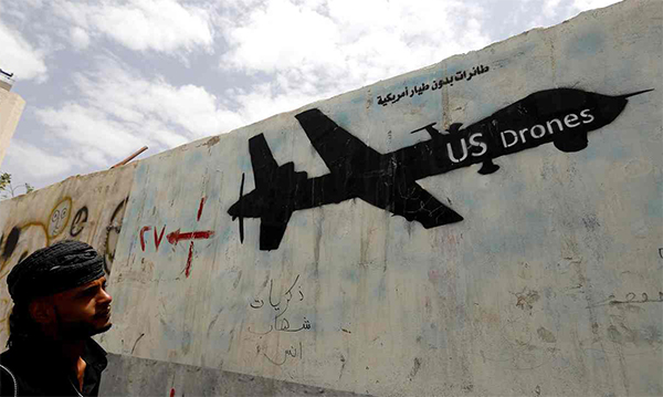 US drone blamed for Afghan deaths