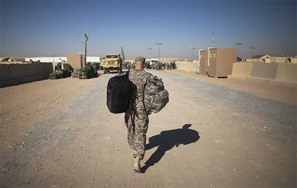 US serviceman deployed in Kuwait commits suicide