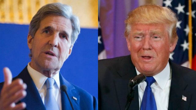 Kerry calls Trump's EU comments 'inappropriate'