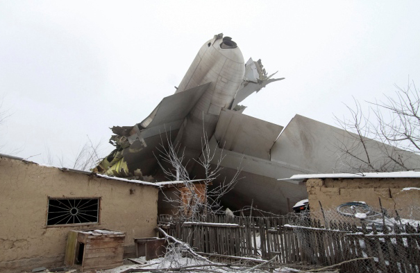 Kyrgyzstan recovers bodies from plane crash site