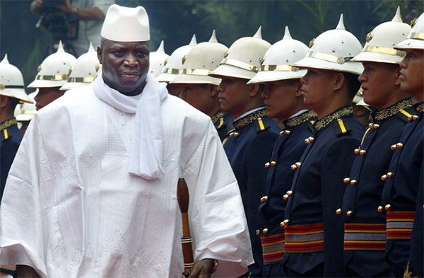 Gambia's defeated leader Jammeh agrees to cede power