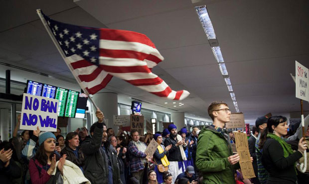 Iranian student deported in chaos of Trump's Muslim ban