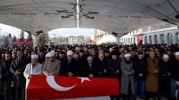 Sultan Abdulhamid II's grandson buried in Istanbul