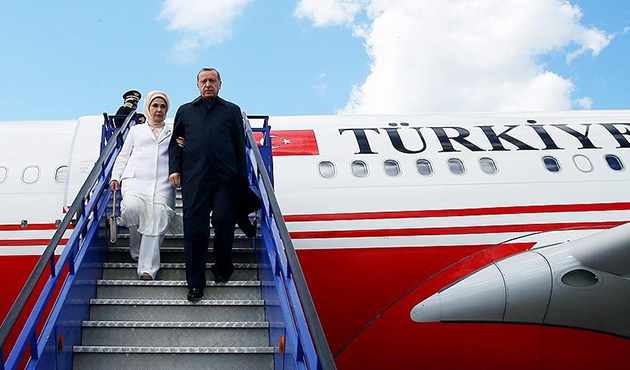 Erdogan arrives in Jeddah on 1st leg of Gulf tour