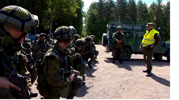 Finland beefs up military amid rising Russian tensions