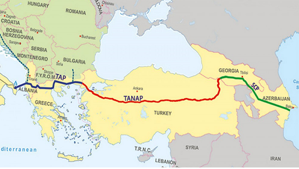Southern Gas Corridor to be finalized by 2020