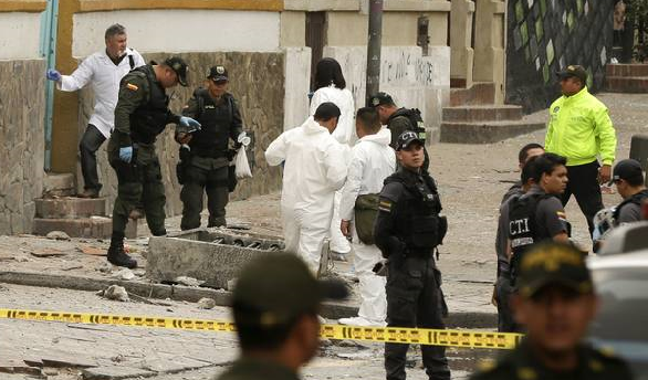 Explosion at Colombia bullring injures dozens