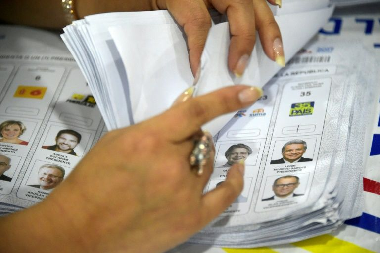 Ecuador officials deny fraud claims in presidency vote