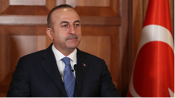 Turkish foreign minister meets Azerbaijani PM in Baku