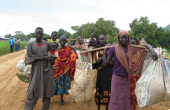 32,000 South Sudanese already entered Sudan in 2017