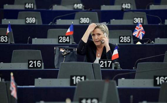 France's Le Pen loses EU immunity over ISIL tweets
