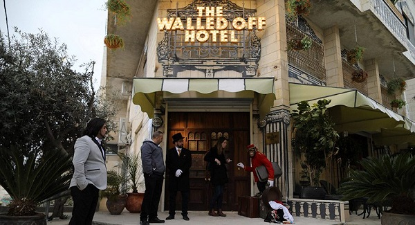 Banksy opens Bethlehem hotel: 'Worst view in the world'