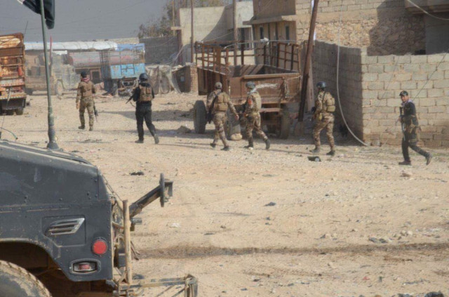 Western Mosul proving tough nut to crack