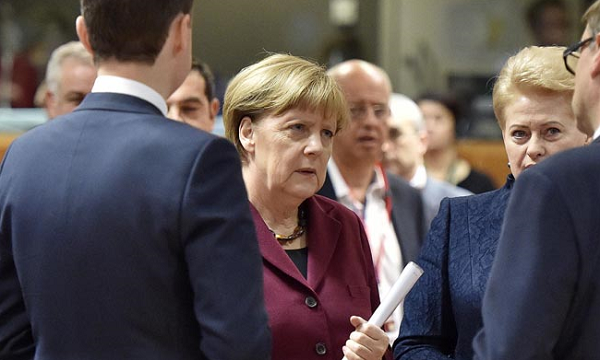 Merkel, Schulz clash on policy in pre-election TV duel