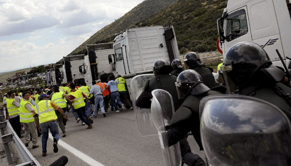 Eight Iraqis saved from refrigerated truck in Spain