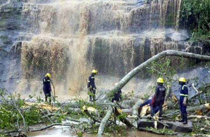 Ghana: 18 dead after tree falls at waterfall