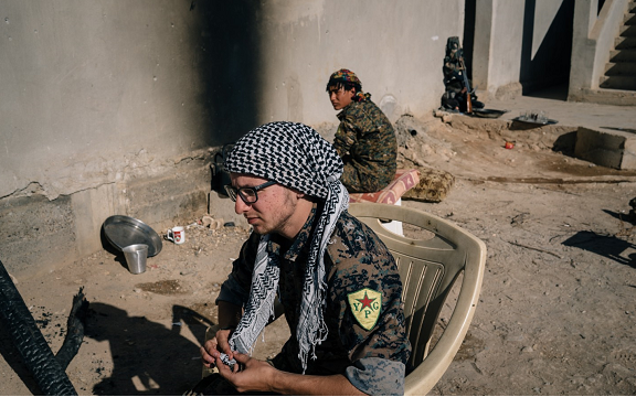 Washington Post: American Marxists join the PYD/YPG