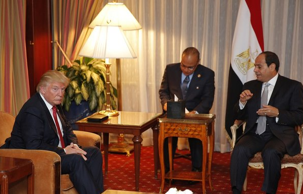 Trump welcomes Egypt's Sisi in Washington