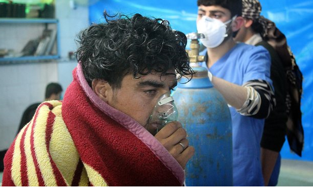World condemns chemical attack in Syria again...