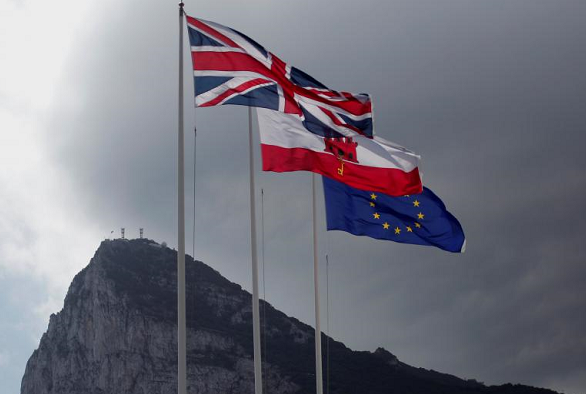 Gibraltar traffic jams as Brexit row heats up