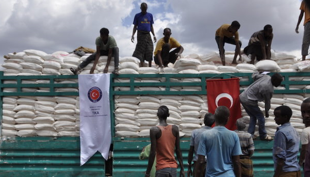 Turkey provides food aid for refugee camp in Ethiopia