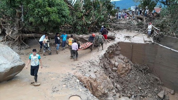 Turkish agency helps flood-hit Colombia