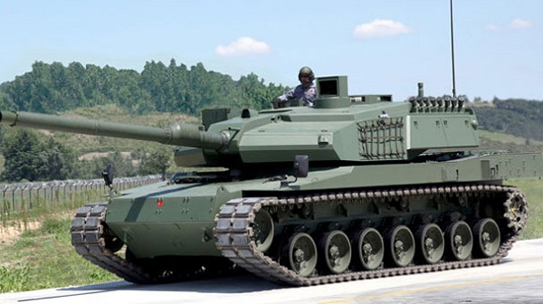 Turkey plans battle tank Altay's mass production in May