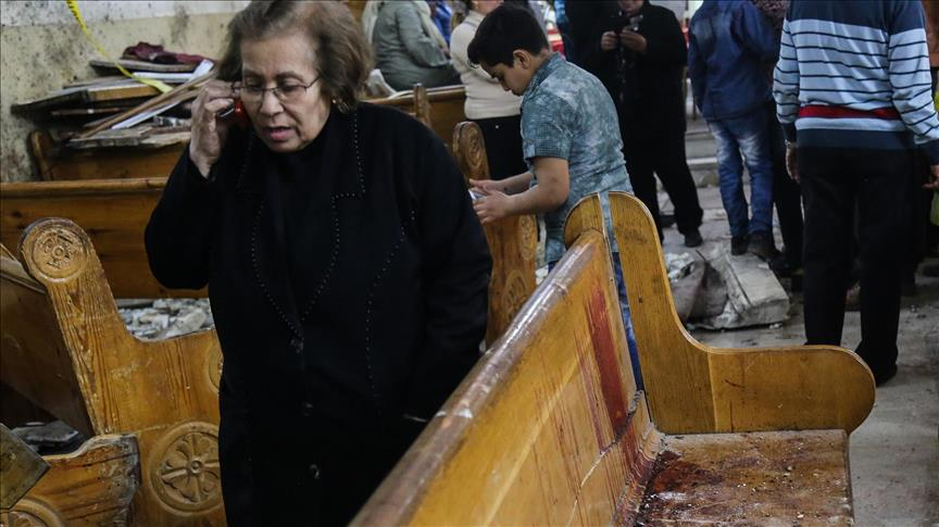 Egypt church blasts meant to embarrass regime