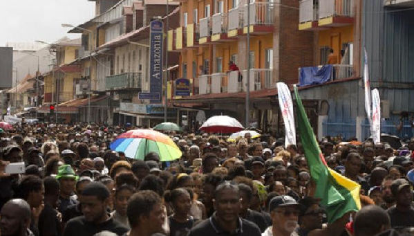 French Guiana protestors press demands