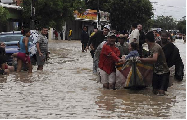 At least 16 killed in Colombia floods
