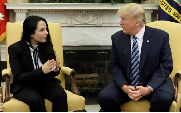 US aid worker Aya Hijazi meets Trump after Egypt release