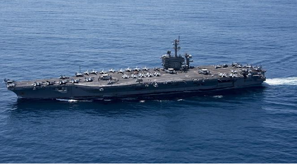 US naval armada to be in Sea of Japan in days