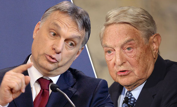 Victor Orban says George Soros 'attacking Hungary'