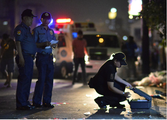Explosion injures 11 in Philippine capital