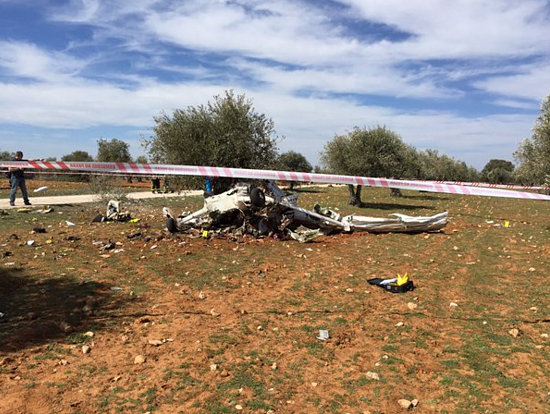 Four Saudis killed in plane crash