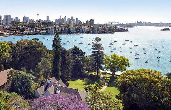 Tech billionaire buys Sydney mansion for record price