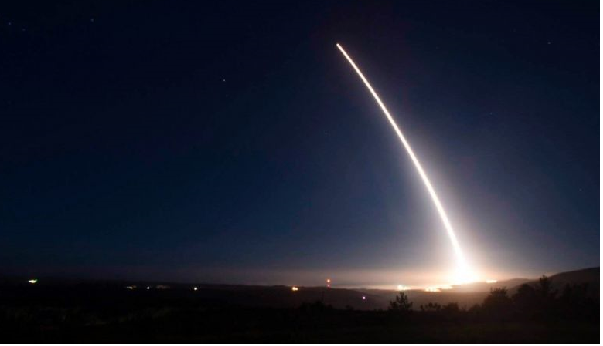 US tests intercontinental ballistic missile