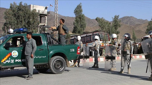 Afghan officials seize truck with 16 tonnes of explosives