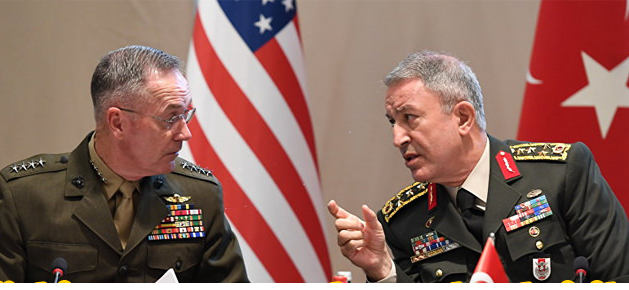 Turkish army chief meets US counterpart