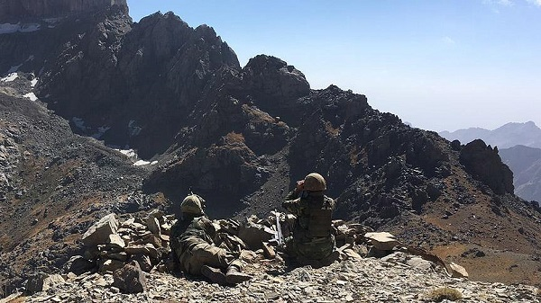 Turkish forces kill 8 PKK terrorists