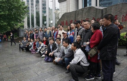 Prominent rights lawyer's delayed trial opens in China