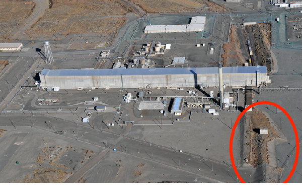 Tunnel collapses at US nuclear site Hanford