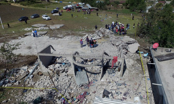 At least 58 dead in Mexico's biggest quake in century